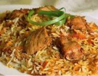 Chicken or Lamb Biryani