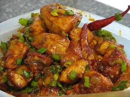 Chicken or Lamb Garlic Chilli