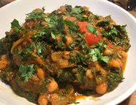Balti Chana + Saag
