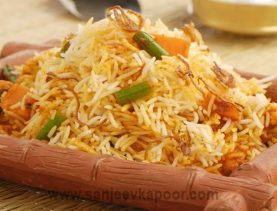 Mixed Vegetable Biryani